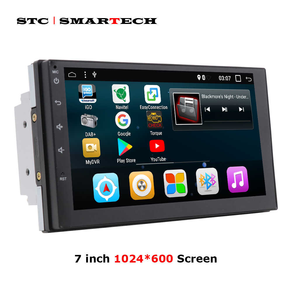 SMARTECH 2 din Android 7 1 Car Radio GPS Navigation System