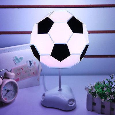 DIY USB Multi-cor de Futebol Lâmpada Artesanal Lâmpada de Mesa Luz Da Noite Colorido Lâmpada de Cabeceira