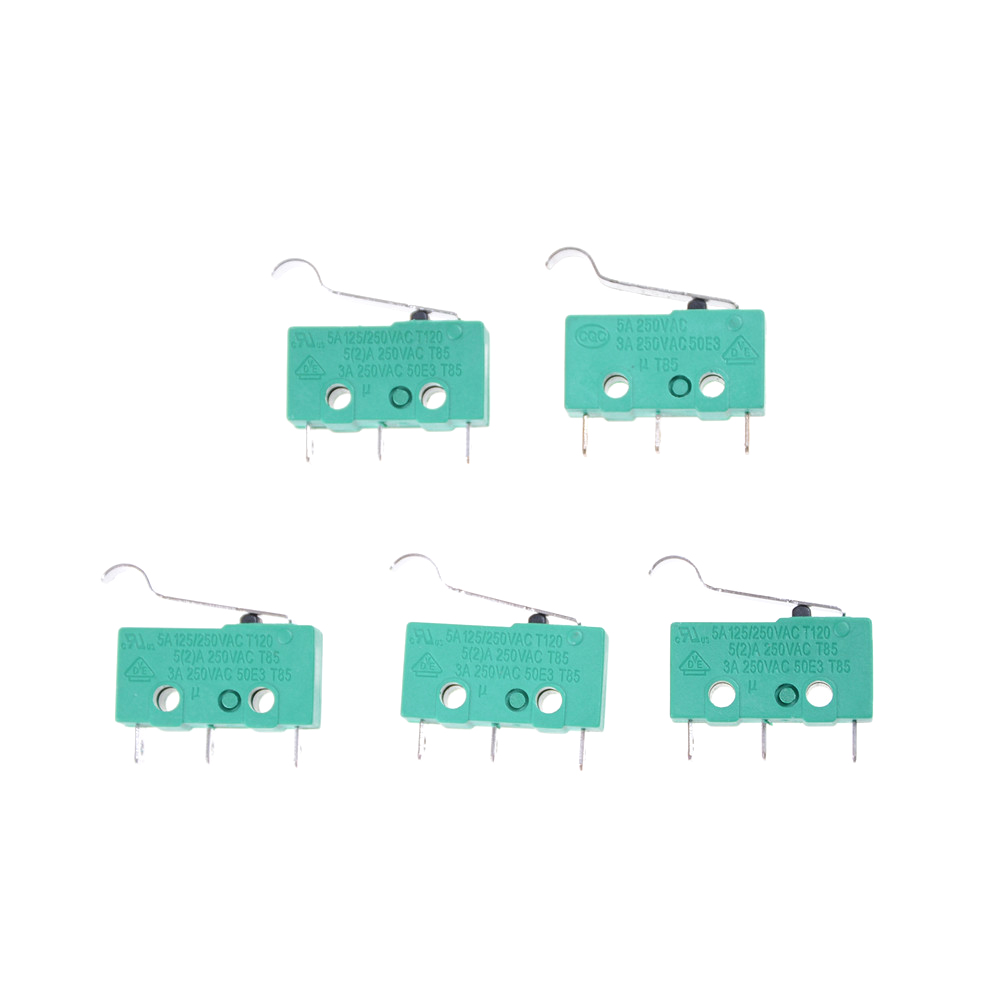 5 шт./лот KW4-3Z-3 микро-переключатель KW4 концевой выключатель 3pin 5A 125 В DC N/O N/C выключатели новое поступление
