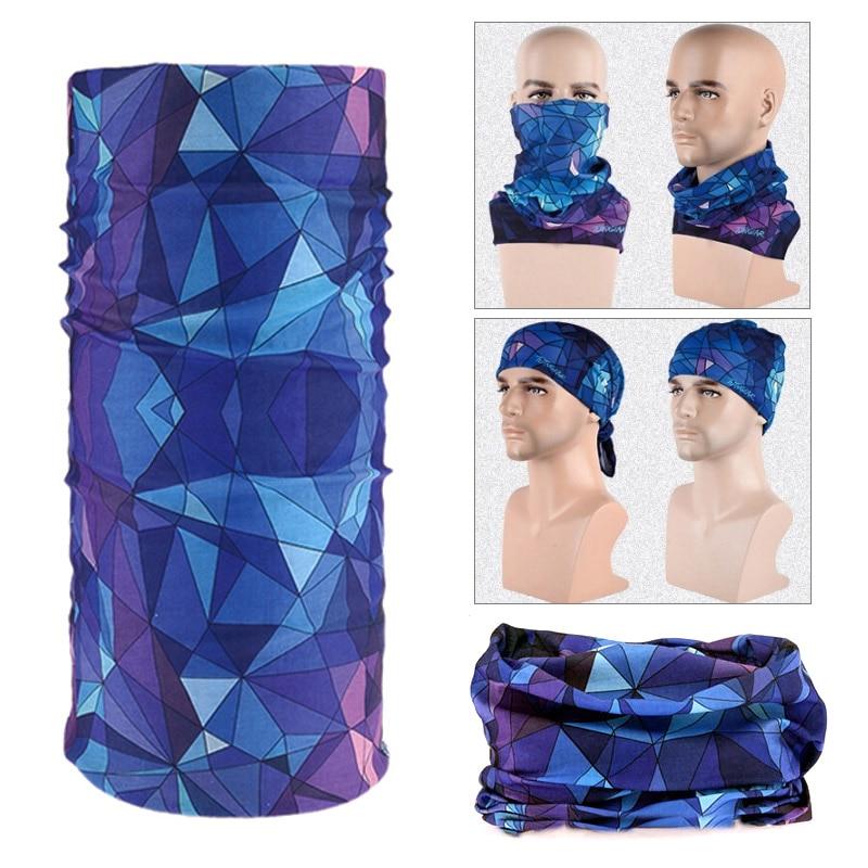 Magic Headwear Blue Ball Outdoor Scarf Headbands Bandana Mask Neck Gaiter Head Wrap Mask Sweatband
