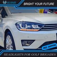 Led Head Lmap for vw golf Sportsvan headlight 2016 2017 2018 drl turn signal vw golf Sportsvan H7