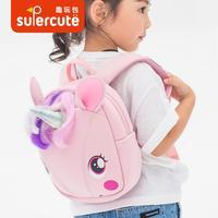 Baby Plush Backpack 3 6Y Cartoon 3D Cute Lovely Shoulder Bag Kindergarten Bag Children Creative Toy Waterproof Anti lost Bag