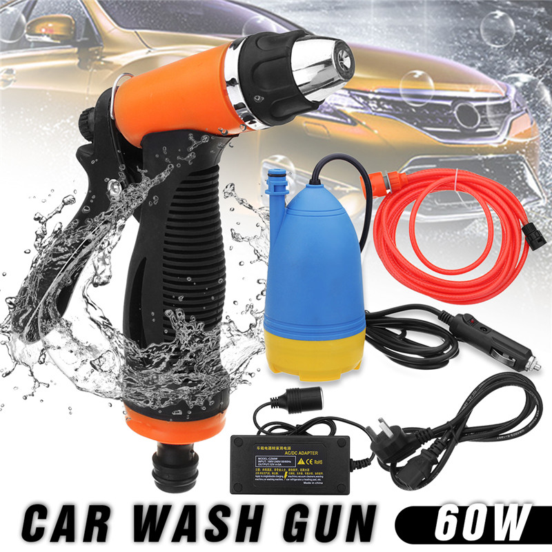 12V Car Electric Washer Sprinkler With Car Charger Adapter