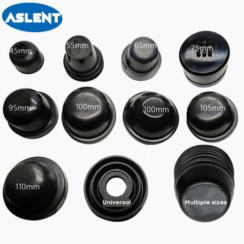 цена Aslent 1pcs Car LED Headlight Dust Cover Waterproof HID xenon lamp Rubber Sealant Cap Cover Headlamp H4 H1 H7 H11 H8 9005 9006 онлайн в 2017 году