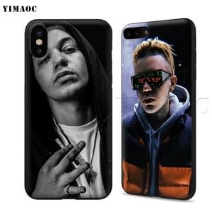 YIMAOC Элджей Мягкий силиконовый чехол для iPhone XS Max XR X 8 7 6 s плюс 5 5S se