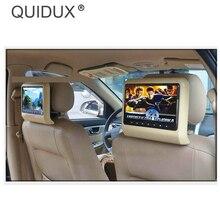 QUIDUX 10,1 дюймов HD Автомобильный подголовник dvd-плеер подголовник TFT lcd экран RCA монитор аудио видео Encosto de Cabeca com DVD