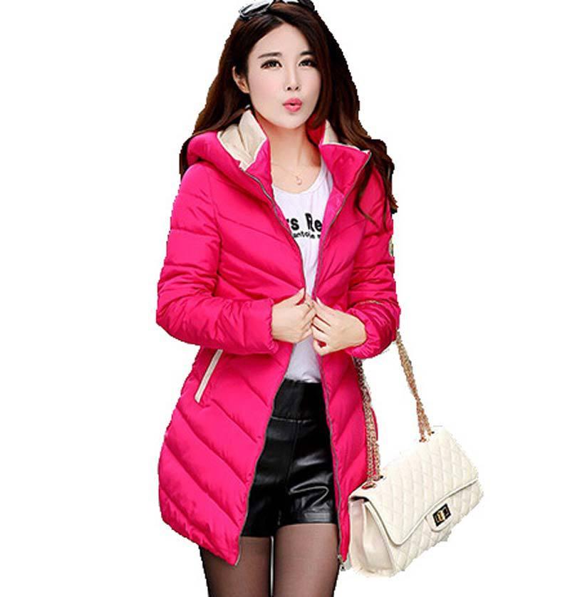 2015 new Warm Women Plus size thick Down cotton Pa...