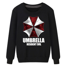 XHTWCY Free shipping 2017 Rushed Regular Zipper Active Knitted Cotton New Biohazard Umbrella Resident Evil