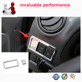 Car styling ABS Chrome Interior Fog Light Lamp Switch Knob Lid Cover Trim Sequin For Suzuki Jimny car accessories