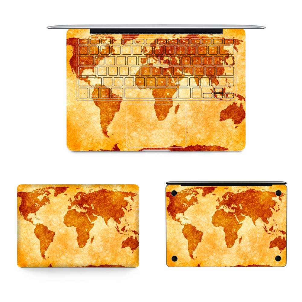 Online get cheap map notebook aliexpress alibaba group new laptop full vinyl decal top bottom keyboard sticker world map soldier skin for apple macbook gumiabroncs Image collections