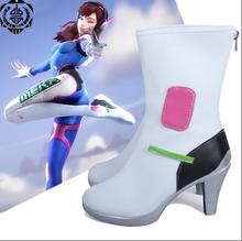 D VA font b cosplay b font shoes