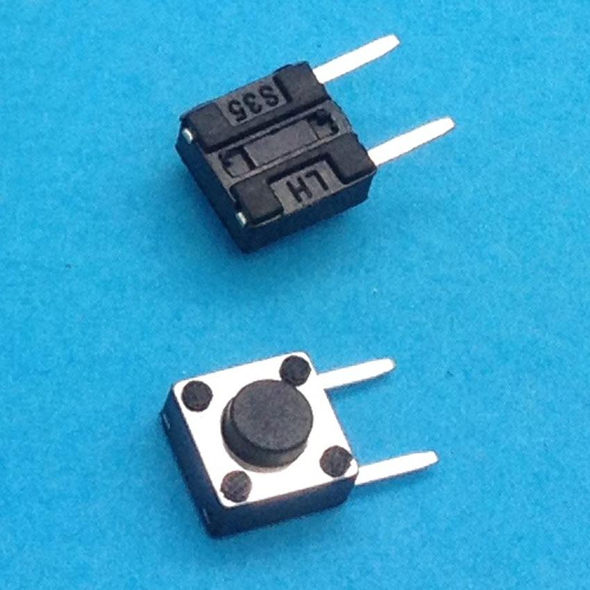 6X6X4,3 DIP Тактильные Такт Мини кнопочный переключатель Микро Переключатель мгновенный 6*6*4,3 мм