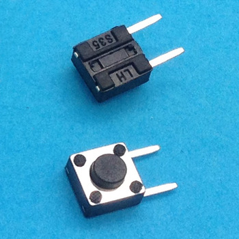 6X6X4.3 DIP Tactile Tact Mini Push Button Switch Micro Switch Momentary 6*6*4.3mm image