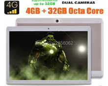 2017 Android 6.0 tablet pc 10 inch Octa Core 4G FDD LTE 4GB RAM 64GB ROM 1920*1200 IPS Dual Cameras Dual SIM Cards GPS Tablets