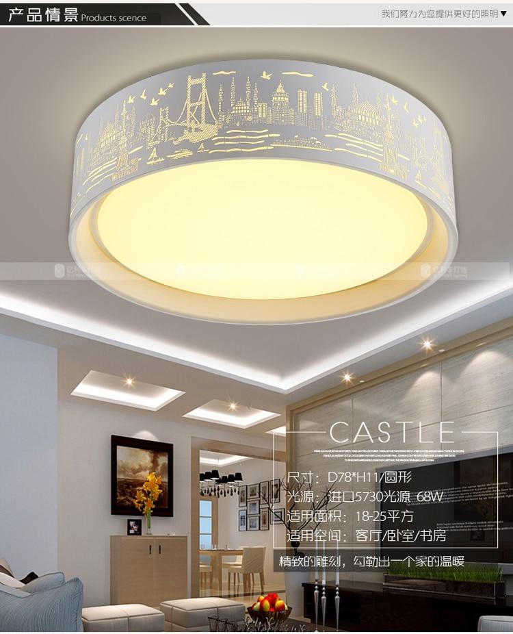 Schlafzimmer lampe LED wohnzimmer Deckenleuchten elektrodenlose ...