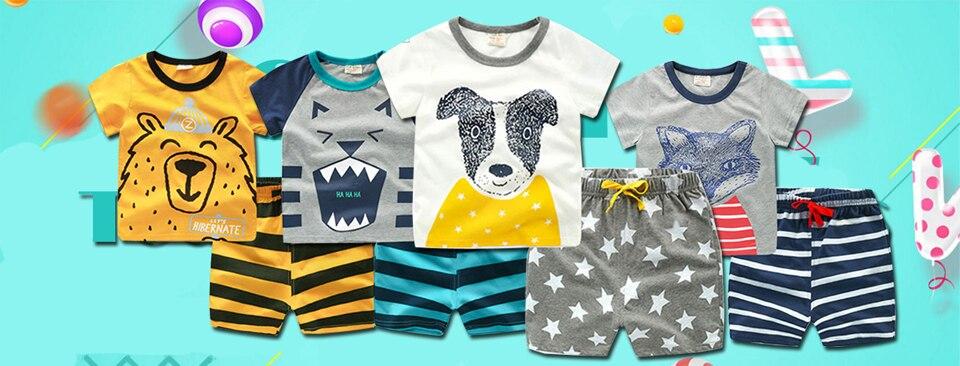 dc092bb19 HH 8PCS Baby clothing tracksuit newborn baby infant boy clothes children  cloth suit new born toddler