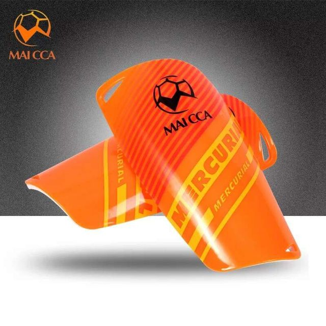 MAICCA Adults Football Shin Pad Soccer shin guards Leg Protector player Sports training light Soft Foam Soccer match shin pads