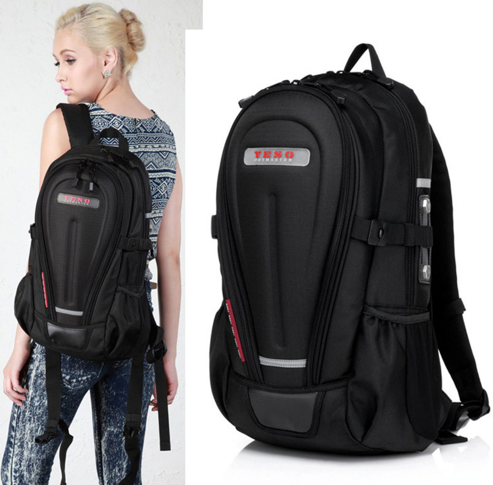 backpack hard shell motorcycle laptop safe bag backpacks bags travelling sports luggage