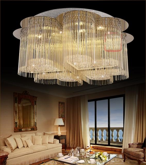aliexpress koop moderne led crystal korte plafond slaapkamer
