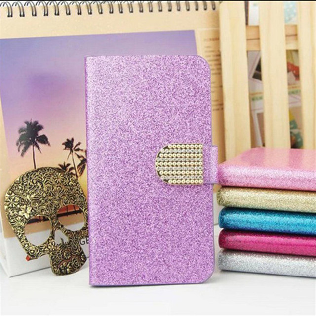 Luxury Bling Glitter Flip PU Leather Cover Case For Samsung Galaxy Note 5 SM-N920F N920 Note5 Full Protector Original Skin Cover