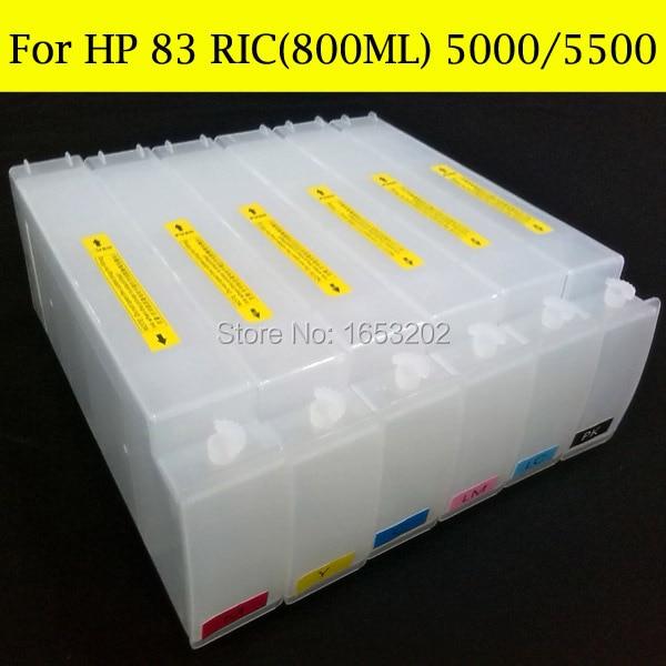 HP 83 RIC 800ML 5000 5500 2
