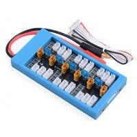 XT30 V3 Battery 40A 2 4S JST XH Parallel Charging Board 4mm Banana Plug/XT60 Female Input Balance Plate For iMax B6