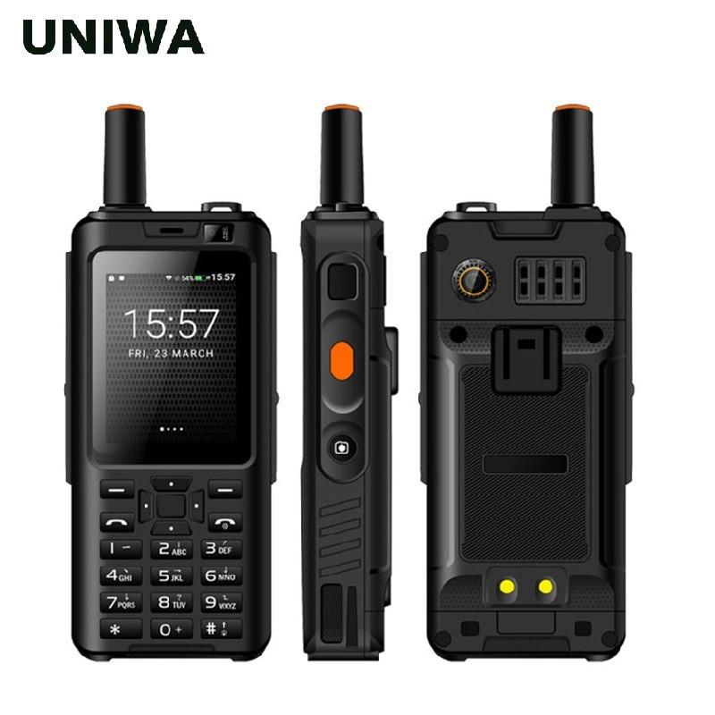 Фото. UNIWA Alps F40 Zello мобильный телефон-рация телефон IP65 Водонепроницаемый 2,4 дюйм сенсорный
