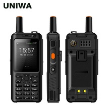 "Uniwa alps f40 zello walkie talkie telefone móvel ip65 impermeável 2.4 ""touchscreen lte mtk6737m quad core 1 gb   8 gb smartphone"
