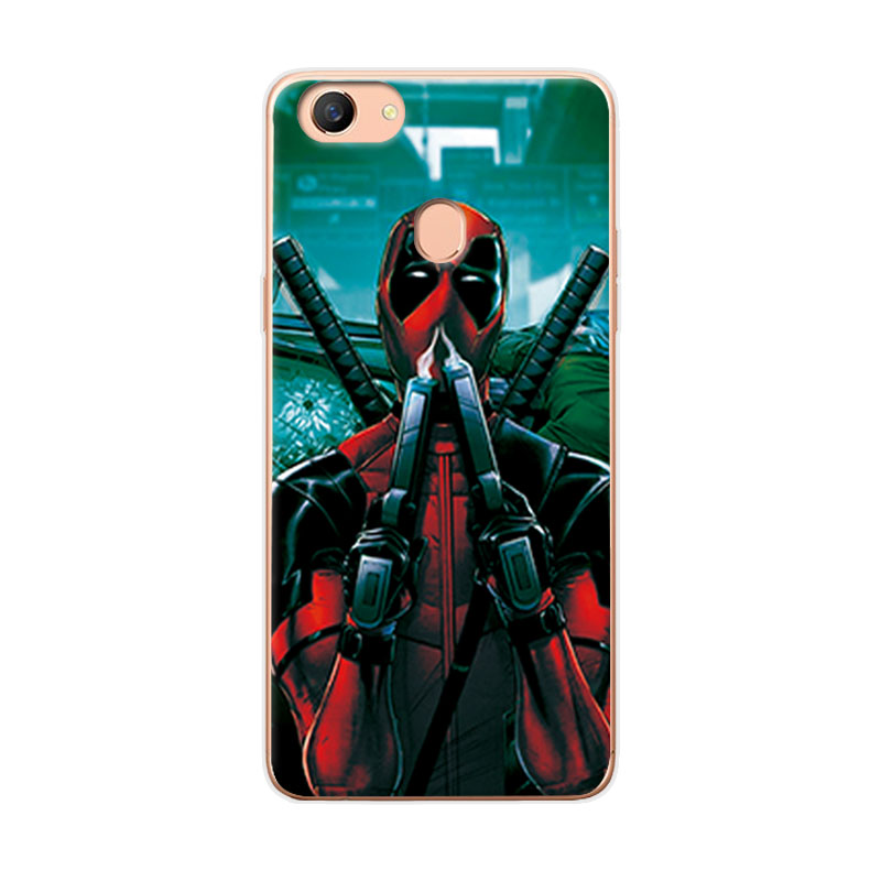 Charming Painted Case Cover For OPPO F5 Marvel Avengers Soft TPU Phone Case Fundas For OPPO A79 Covers For OPPO A73 A73T 6.0