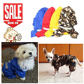 Impermeable del perro de Moda Para Mascotas Perrito Impermeable Ropa Impermeable Lluvia Chaqueta de la Capa de Tela De 5 Colores Impermeable para perros cachorro-ropa