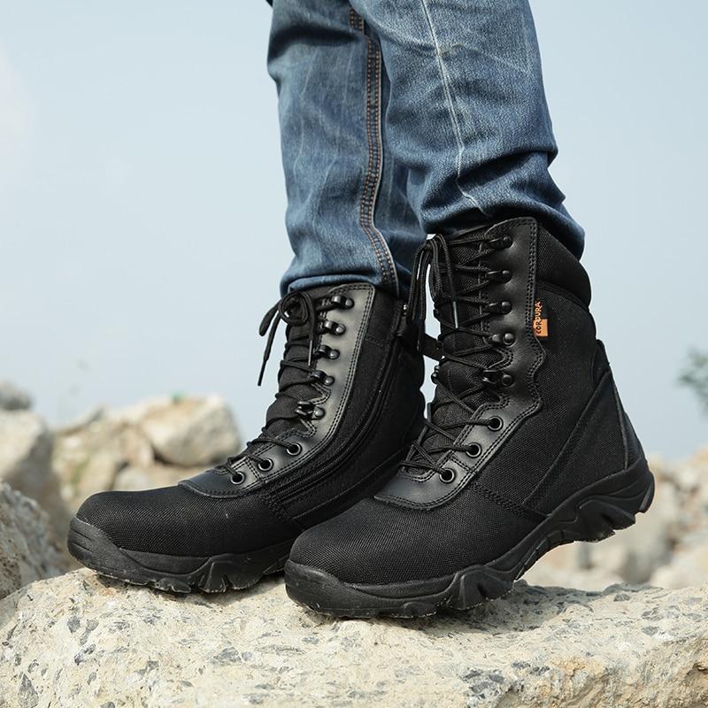 Estilo Preto 4 Kamuflaj Black Escalada Exército De Sapatos verde Botas crepe Militares Homens Combate Bot Camuflagem Hombre Asker Khaki Do Tático crepe wZBaqxgp