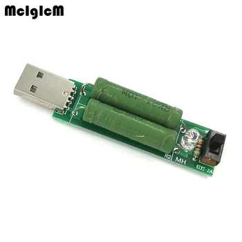 MCIGICM 50 pcs USB mini discharge load resistor 2A/1A With switch 1A Green led,2A Red led - DISCOUNT ITEM  0% OFF All Category