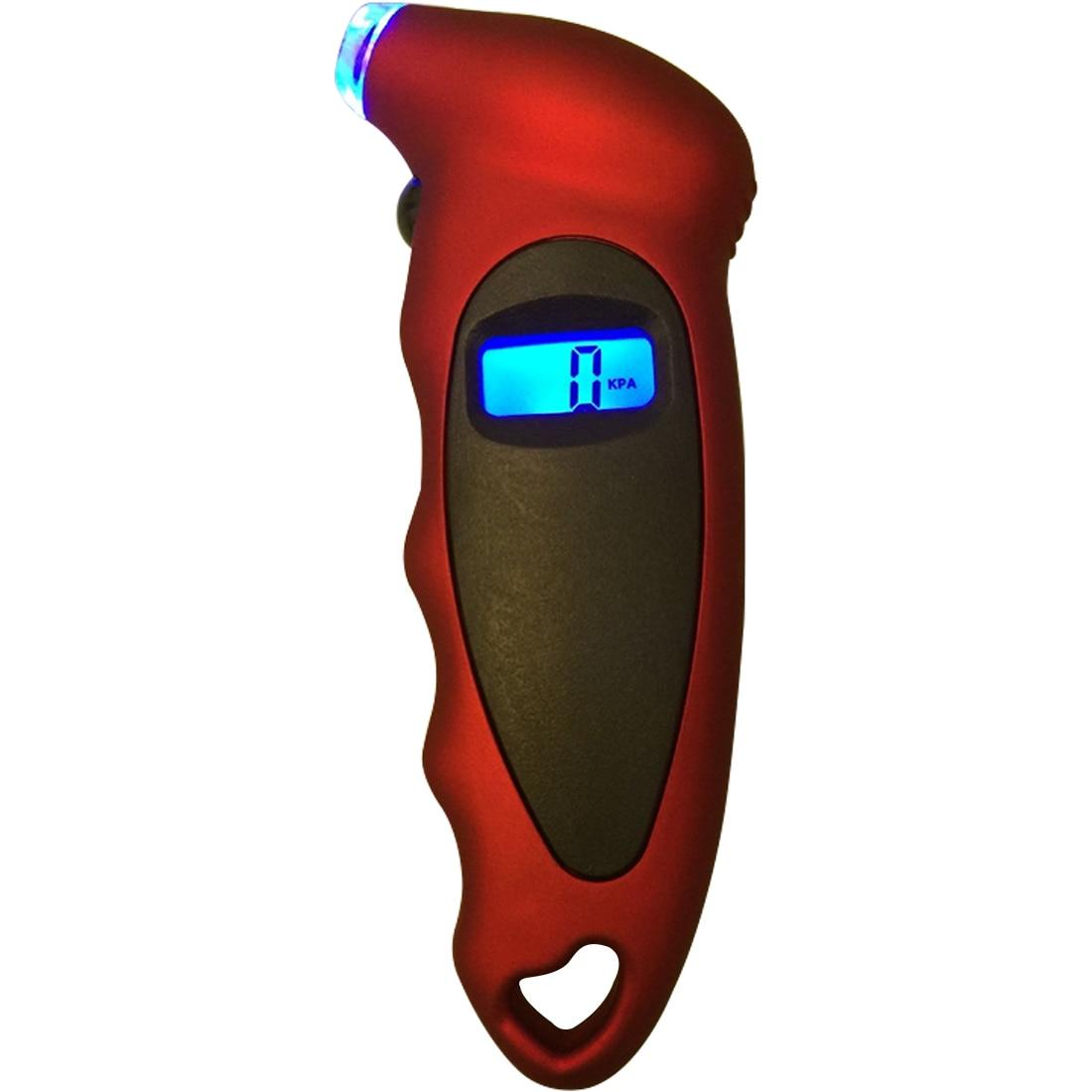 Car Motorcycle Bike Mini Digital Tire Gauge Tire Diagnostic LCD Display Car Digital Tire Pressure Tool Gauge