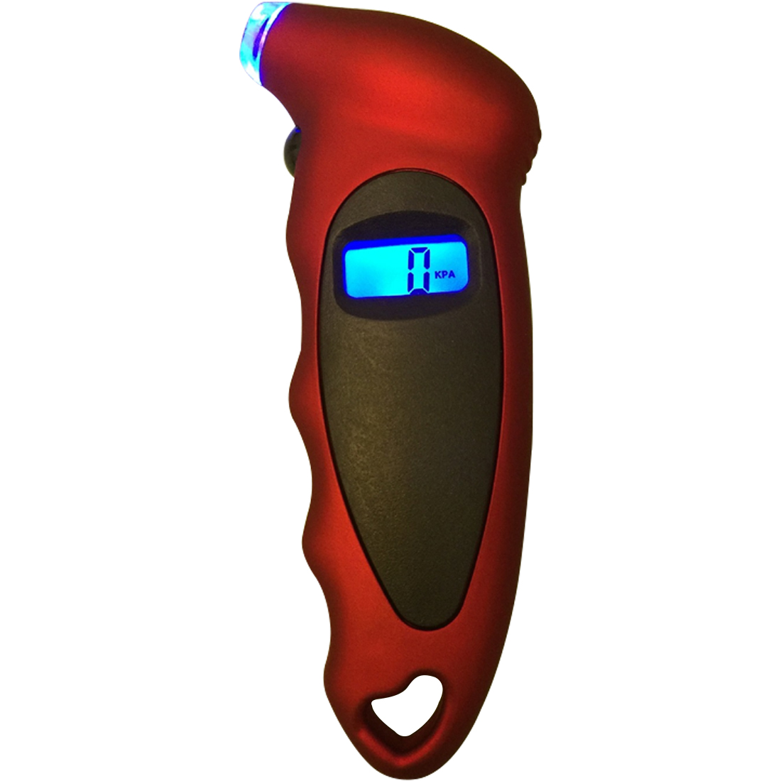 Hot 1PC LCD Display Car Digital Tire Pressure Tool Gauge Car Motorcycle Bike Mini Digital Tire Gauge Tire Diagnostic 8 in 1 1 2 digital display tire pressure gauge black 3 x aaa battery
