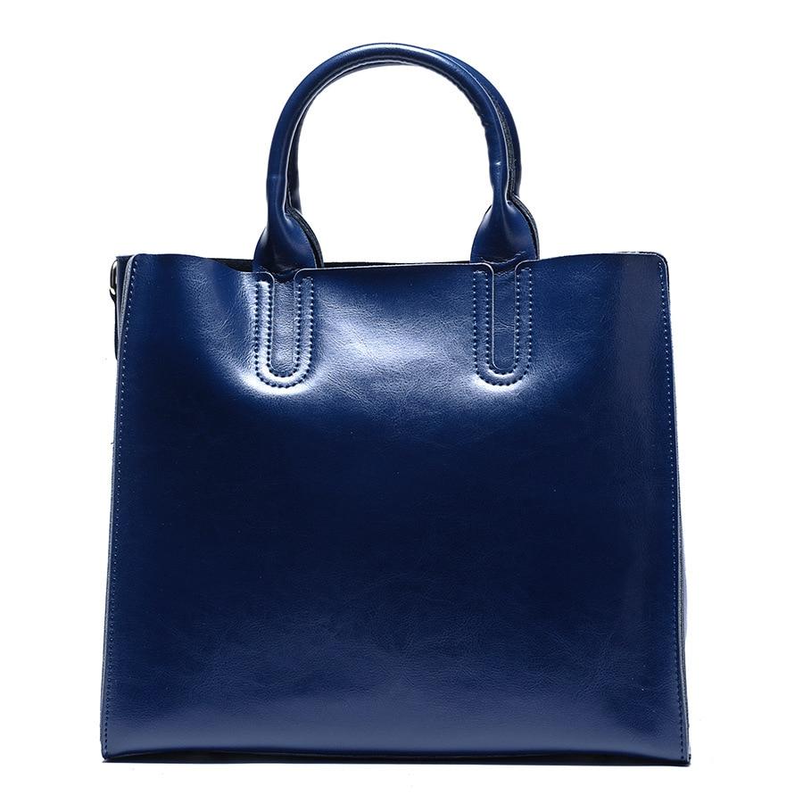 купить Genuine Leather Bags Handbags Women Famous Brands Big Women Crossbody Bag Trunk Tote Designer Shoulder Fashion Bag Ladies по цене 4309.08 рублей