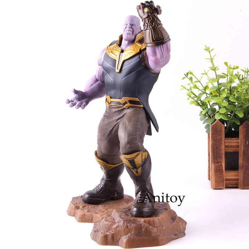 Marvel Avengers 4 Thanos Action Figure Infinity War PVC Collection Model Toy 1/10 Scale Pre-pained Figures Birthday Gift