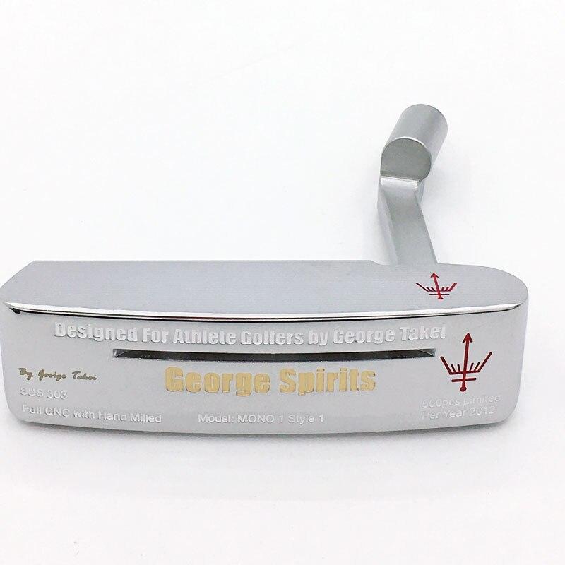 Cooyute NOVA cabeças De Golfe George Espíritos MONO1 limited Golf heads No eixo do Golfe Putter Clubes Putter Haeds T de prata Livre grátis