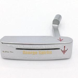 Image 1 - Cooyute新ゴルフヘッドジョージスピリッツMONO1 限定ゴルフパターhaeds tシルバーパタークラブヘッドなしゴルフシャフト送料無料