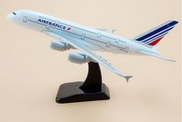 20cm Metal Plane Model Air France Airlines Airbus 380 A380 Airplane Model Airways w Stand Aircraft Gift