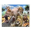 Tiere DIY Malerei Durch Zahlen Handwerk Kits Färbung Elefant Löwe Zebra Giraffe Deer Öl Bilder Hand Malen Zeichnung Wohnkultur-in Malerei und Kalligraphie aus Heim und Garten bei