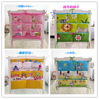 Promotion Kitty Mickey 62 52cm Baby Storage Bag In Nursery Decor Baby Crib Hanging Bag Bedding