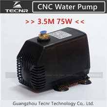 75W pump cnc engraving machine tool cooling cnc spindle motor water pump 220V 75W 3.2M for 1.5KW 2.2KW spindle motor
