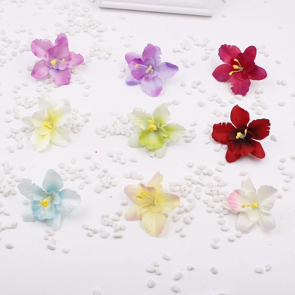 50 pieces 5 cm artificial orchid flowers bouquet silk lily flower 50 pieces 5 cm artificial orchid flowers bouquet silk lily flower wedding garland scrapbooking decoration in artificial dried flowers from home garden izmirmasajfo Image collections