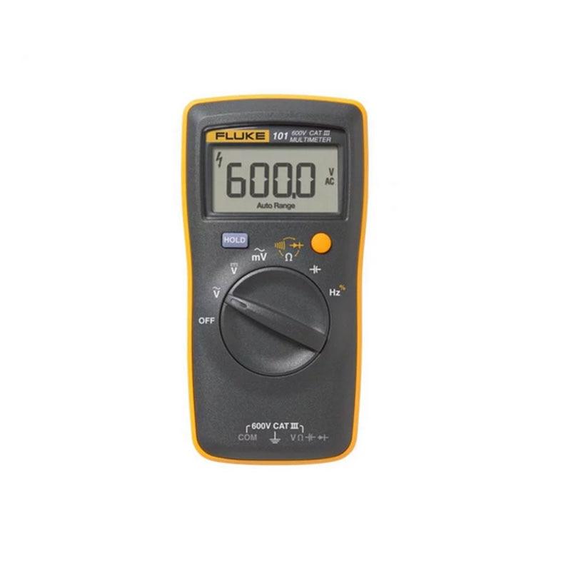 Fluke Multimeter Digital Tester Profissional Digital Multimeter Portable Handheld Auto Range Basic for AC/DC Voltage Tester 1