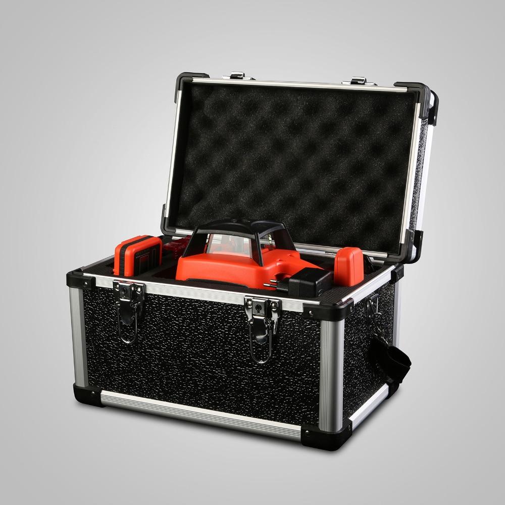 Лазерный уровень автоматический электронный самонивелирующийся вращающийся красный лазерный уровень 500 м Европейский запас