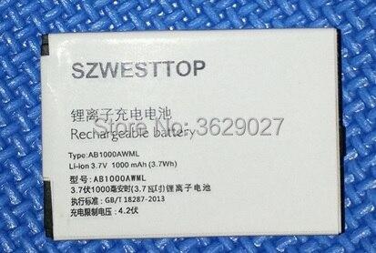 SZWESTTOP d'origine A20VDP/3ZP de la batterie Pour philips K700 K600 X503 X223 F511 F322 X703 portable Batterie pour XENIUM smart téléphone