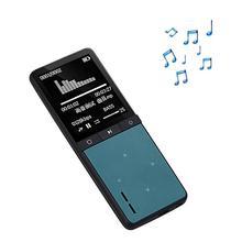 Onn w8 deporte bluetooth reproductor de mp3 altavoz externo incorporado 8 gb portable audio reproductor de música con radio fm grabadora de voz podómetro