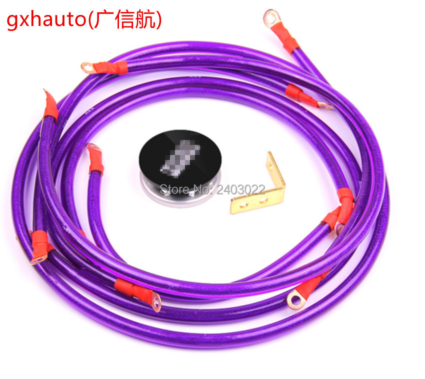 """Braided Replacement 12/"""" 30cm Earth Strap Amp Kit Upgrade Battery Lead Cable Post"""