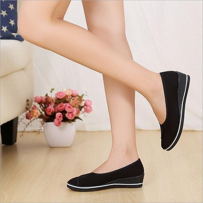 Professional Nurse uniforms health care clothing beautician work shoes nurse shoes increased heighten cattle tendon bottom