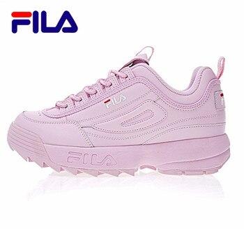 FILAS Disruptor II 2 Running Shoes Summer Sport Shoes Men Breathable Zapatillas Women Increased Sneakers 0001 женские кроссовки фила цена по низким ценам кж